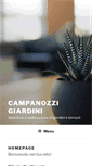 Mobile Preview of campanozzigiardini.it