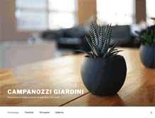 Tablet Preview of campanozzigiardini.it